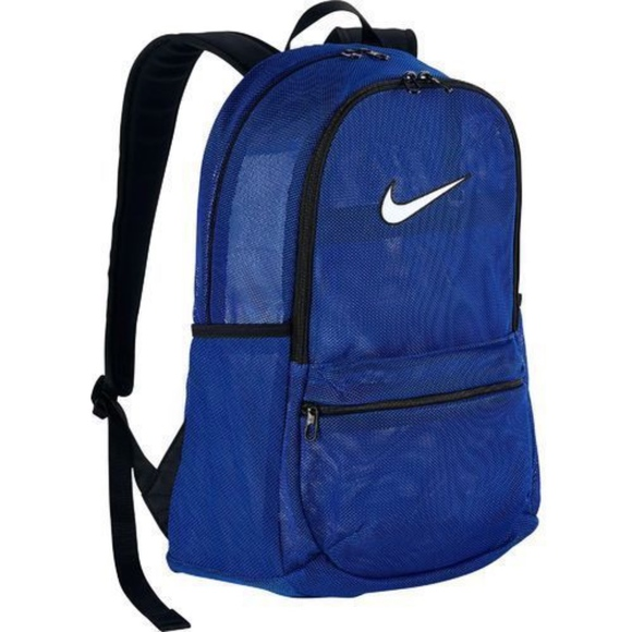 37c19160f6 Nike BRASILIA Mesh  See Through  Backpack